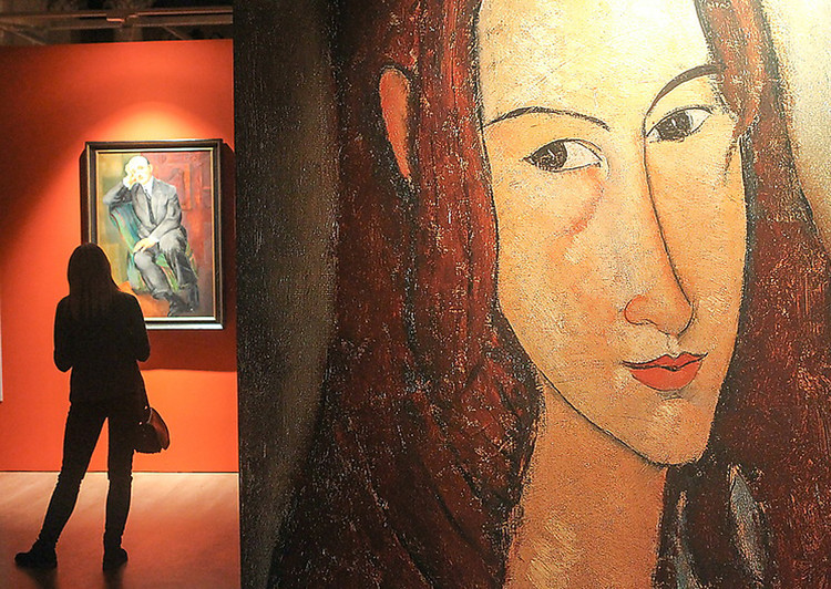 фото - Modigliani, Soutine and Other Legends of Montparnasse  (2017, St. Petersburg)